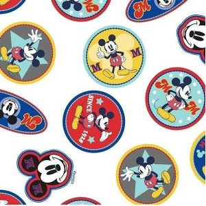 Cotone Disney Mickey Mouse Logo