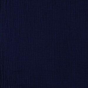 Mussolina Doppia Garza Blu Navy