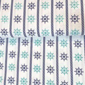 Cotone con Timoni Blu