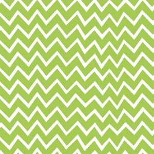 Cotone Chevron Verde
