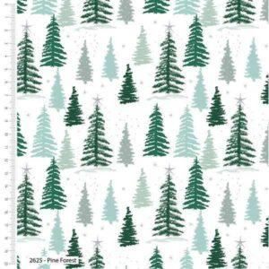Cotone Natalizio Snowy Forest
