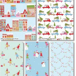 Fat Quarter Christmas Town
