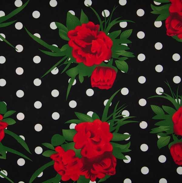 Cotone Romantic Black