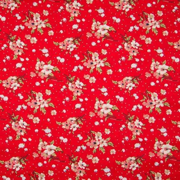 Cotone Rosso Liberty
