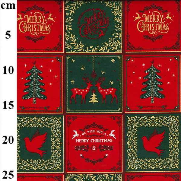 Cotone Natalizio Christmas Patches