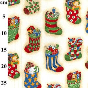 Cotone Natalizio Santa Socks