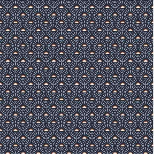 Cotone Geographic Retro Navy