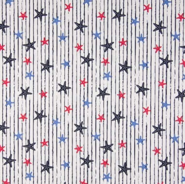 Cotone Nautical Stars