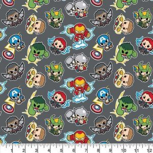 Cotone Marvel Mini Heroes