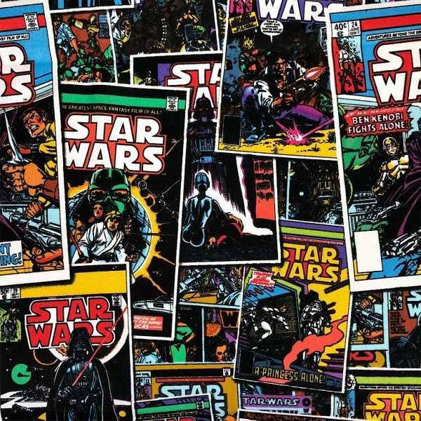 Cotone Star Wars Comic Book