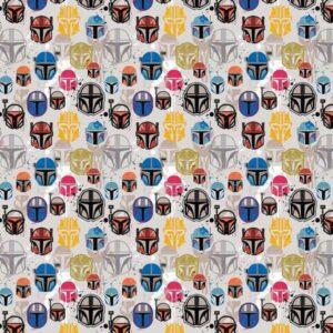 Cotone Star Wars Mandalorian Helmets