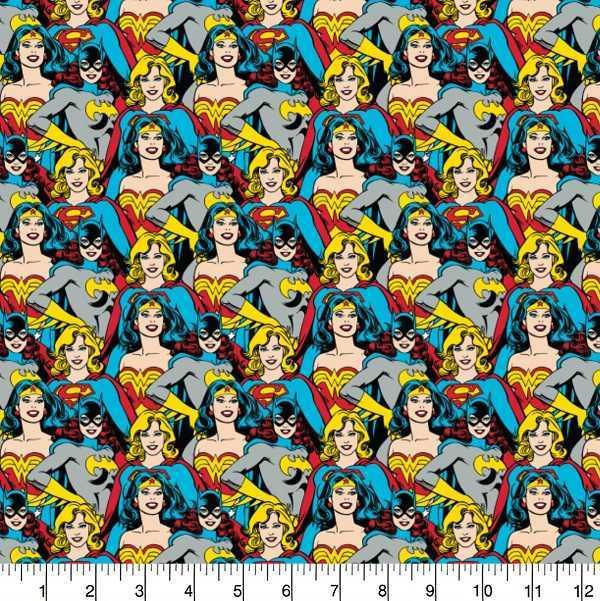 Cotone Wonder Woman