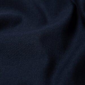 Lino Puro Prelavato Blu Navy