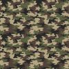 Cotone Camouflage Army