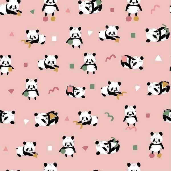 Jersey Rosa con Panda