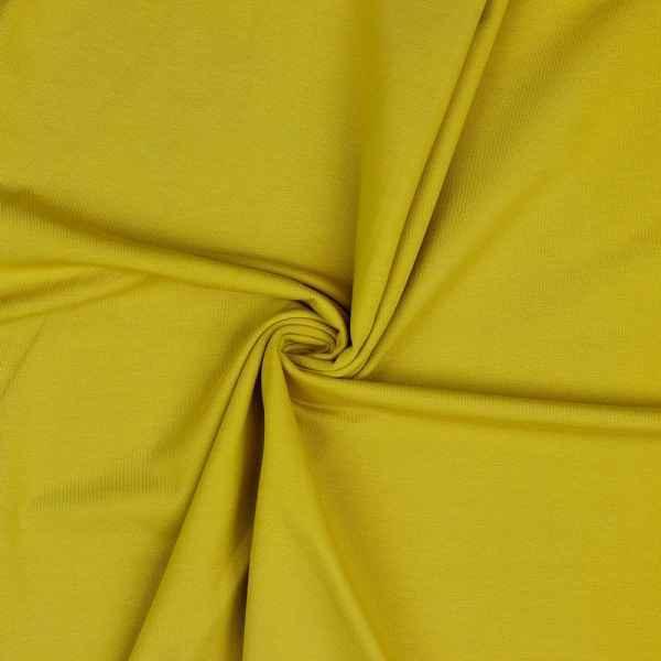 Jersey di Cotone Ocre