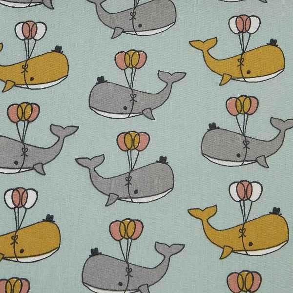 Cotone con Balene