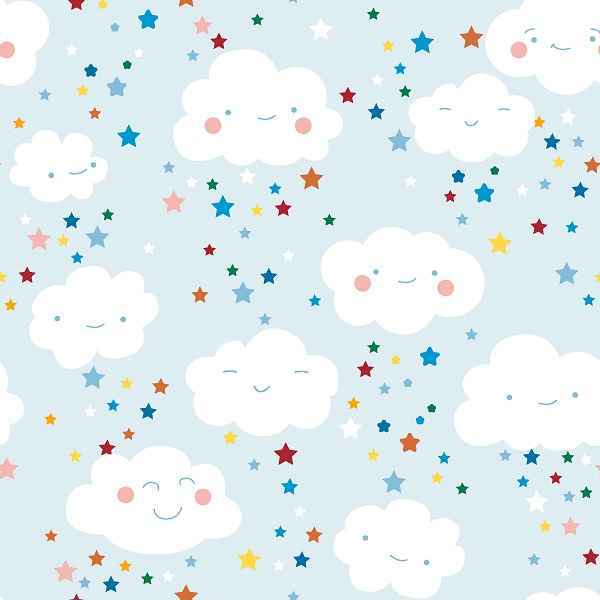 Cotone Smiley Clouds