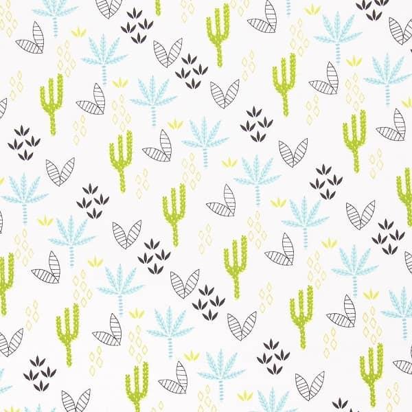Cotone con Cactus e Palme