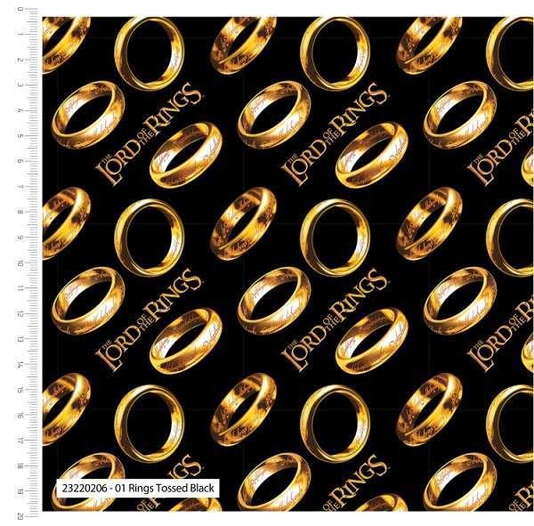 Cotone Il Signore degli Anelli - The Ring