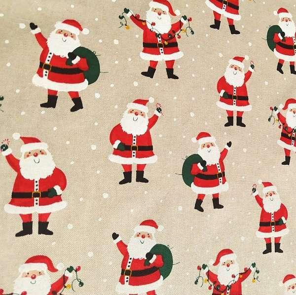 Cotone Canvas Santa Greetings