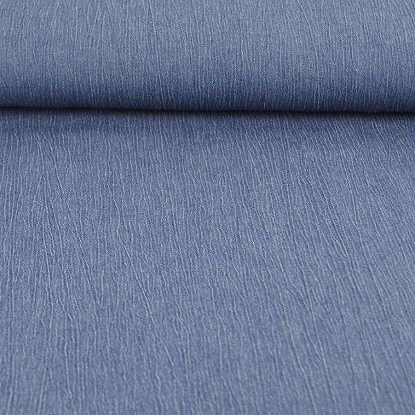 Denim Jeans effetto increspato blu medio