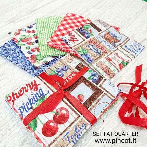 Fat Quarter Berry Patch